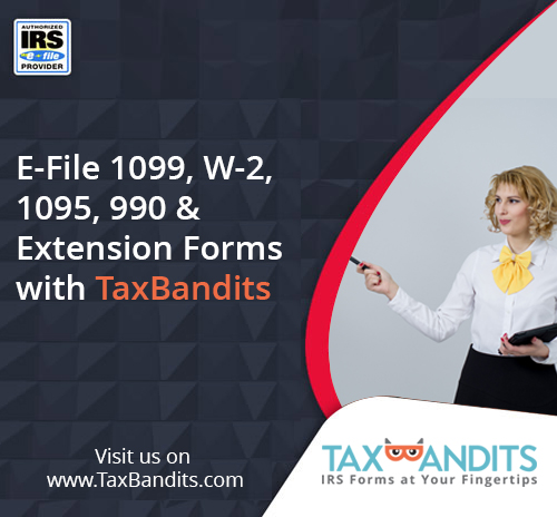 E-File 1099, W-2, 94x And ACA Forms