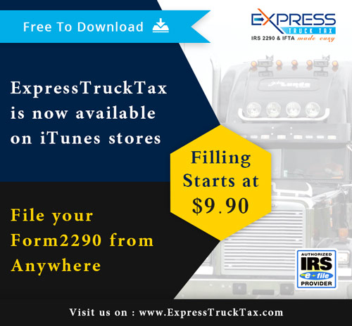 Expresstrucktax E File Irs Forms 2290 And 8849