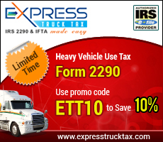 E-file IRS Form 2290 with promocode ETT10